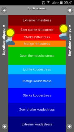 De Hittestressmeter app